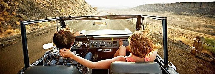 Viajantes que optaram por alugar um carro