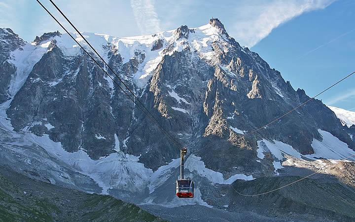 Aiguille du Midi em Chamonix