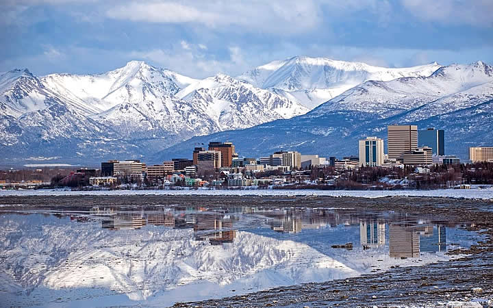 Anchorage no Alaska - EUA