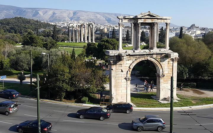 Arco de Adriano em Atenas