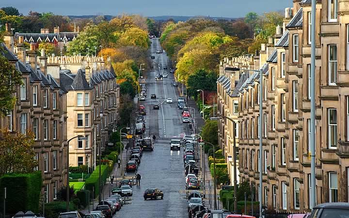 Avenida - Edimburgo
