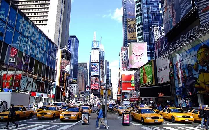 Avenida em Nova Iorque