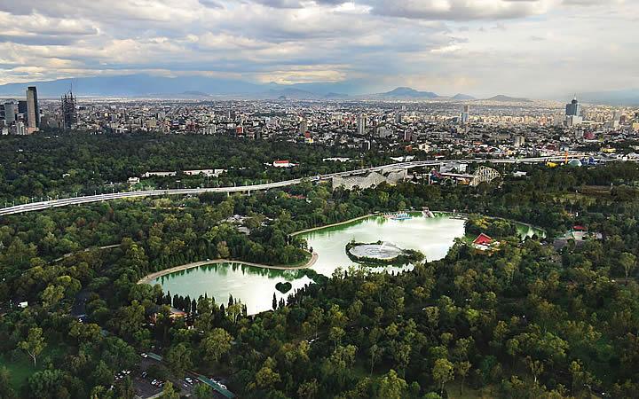 Bosque de Chapultepec em Cidade do México