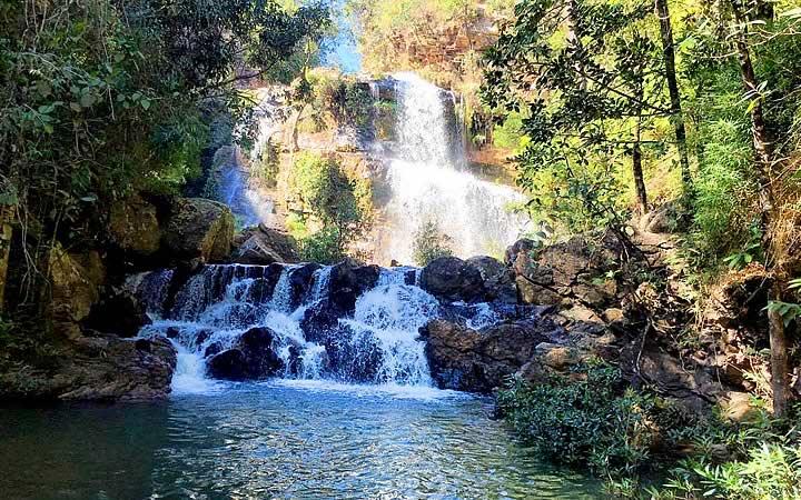 Cachoeira Garganta em Pirenópolis