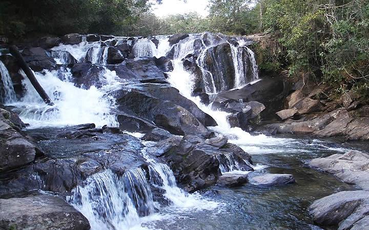 Cachoeira Meia Lua em Pirenópolis