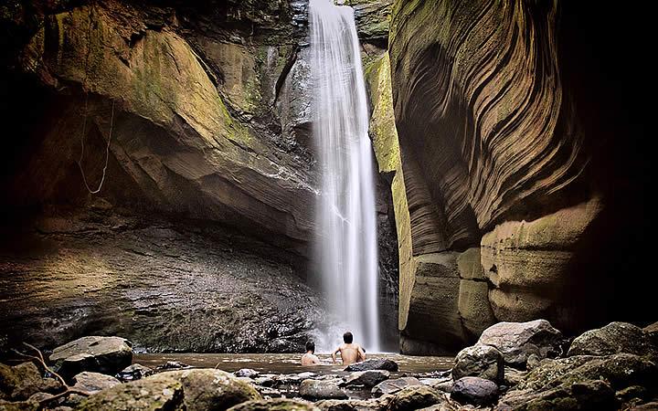 Cachoeira das Andorinhas em Rio Grande do Sul