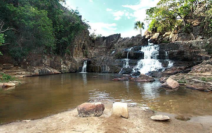 Cachoeira do Coqueiro em Pirenópolis