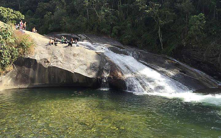 Cachoeira do Escorrega em Visconde de Mauá