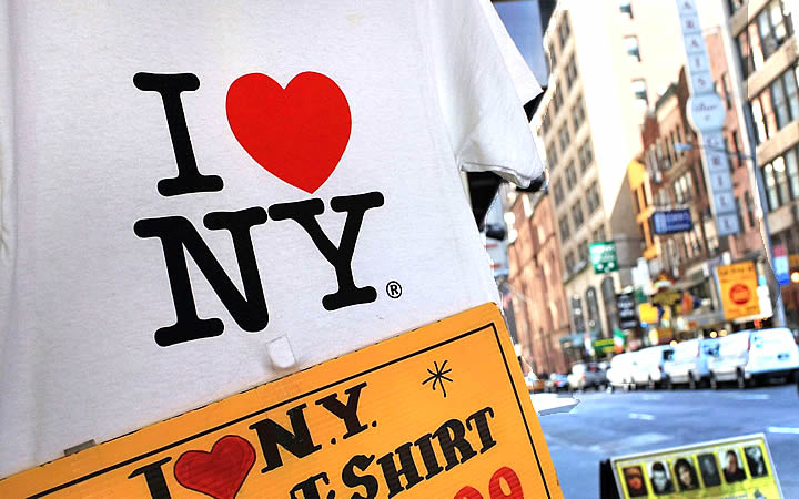 Camisa com I love NY