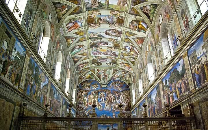 Capela Sistina - Vaticano