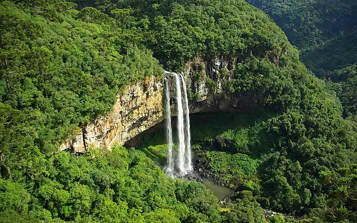 Cascata do Caracol em Rio Grande do Sul