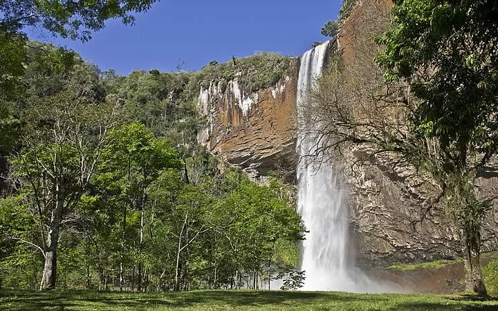 Cascata do Chuvisqueiro em Rio Grande do Sul