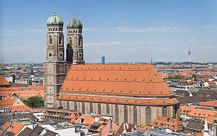 Catedral de Munique - Frauenkirche em Munique