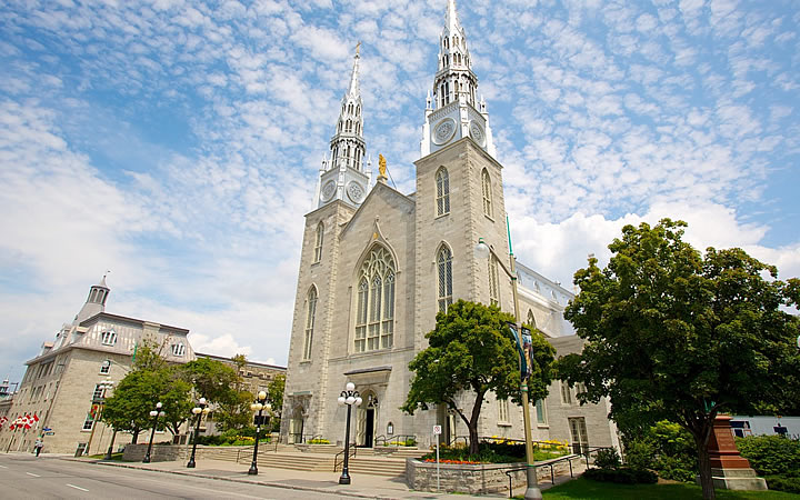Catedral de Notre Dame em Ottawa