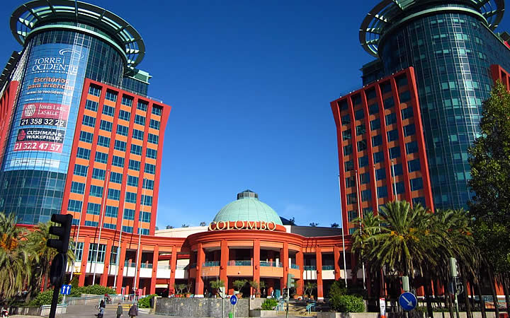 Centro Comercial Colombo em Portugal
