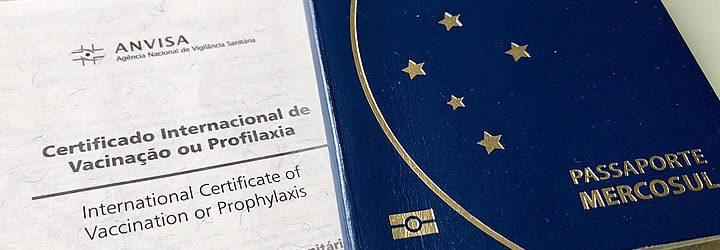 Certificado Internacional de Vacinação para Viajantes