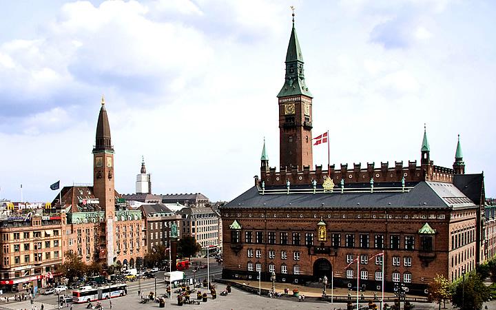 City Hall em Copenhague