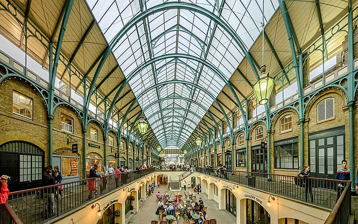 Covent Garden em Londres