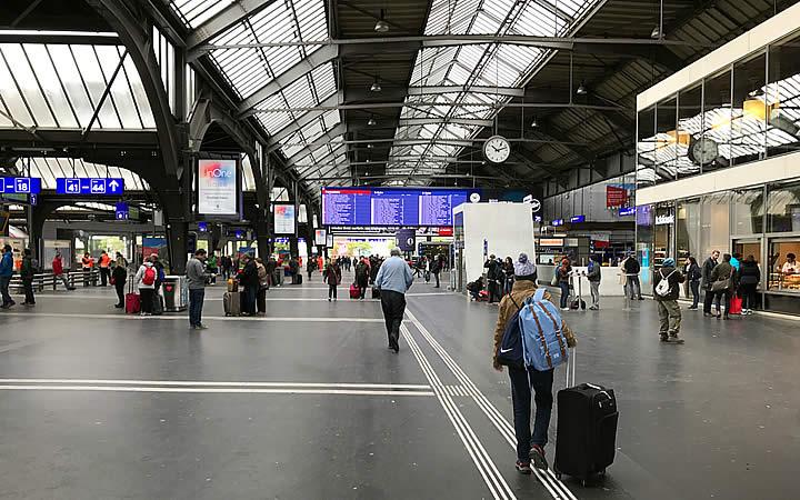Estação de Trem Hauptbahnhof