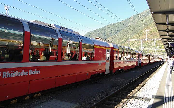 Estação de trem em Berna