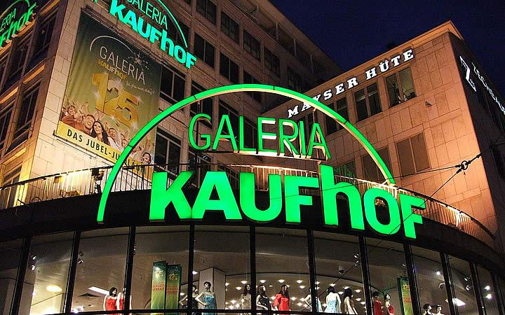 Galeria Kaufhof em Frankfurt