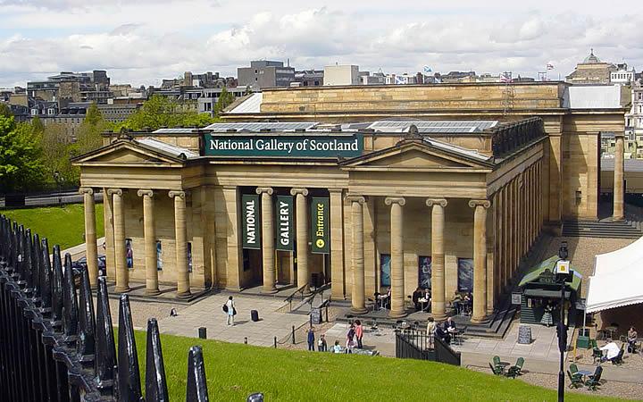 Galeria nacional - Edimburgo