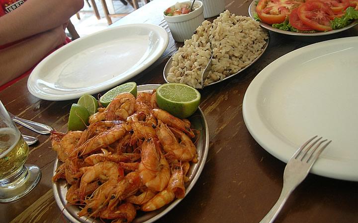 Gastronomia de Fortaleza, Camarões Gigantes