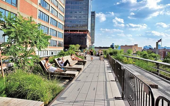 High Line em Nova Iorque