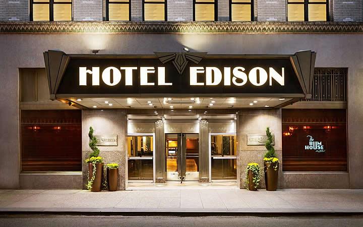 Hotel Edison em Nova Iorque
