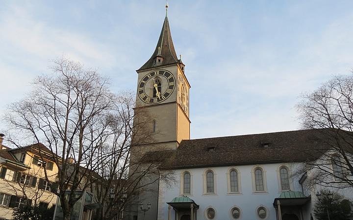 Igreja de St. Peter em Zurique