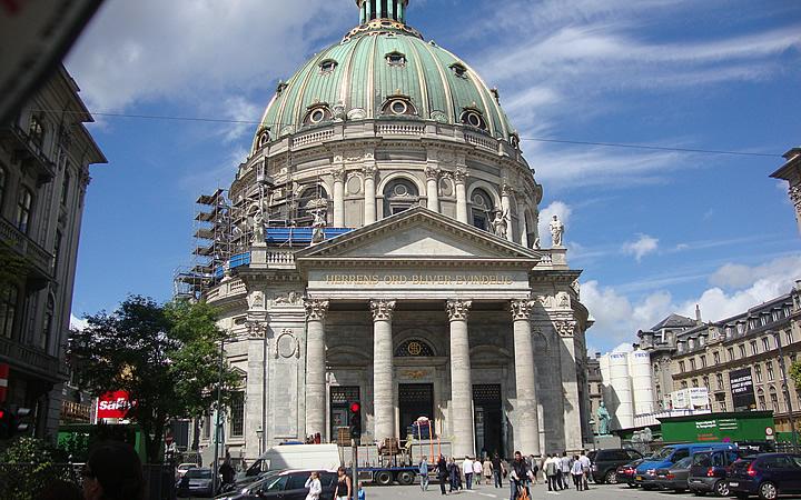 Igreja de mármore em Copenhague