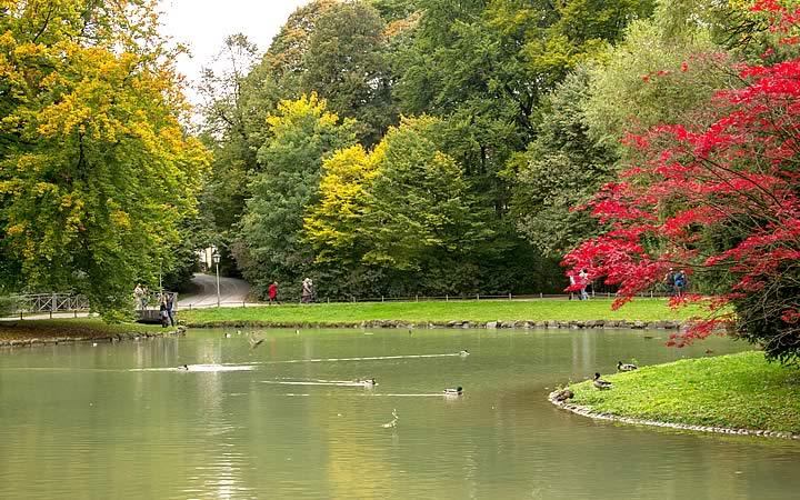 Jardim Inglês - Englischer Garten em Munique