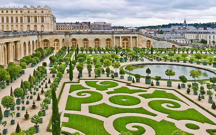 Jardim de Versalhes - França