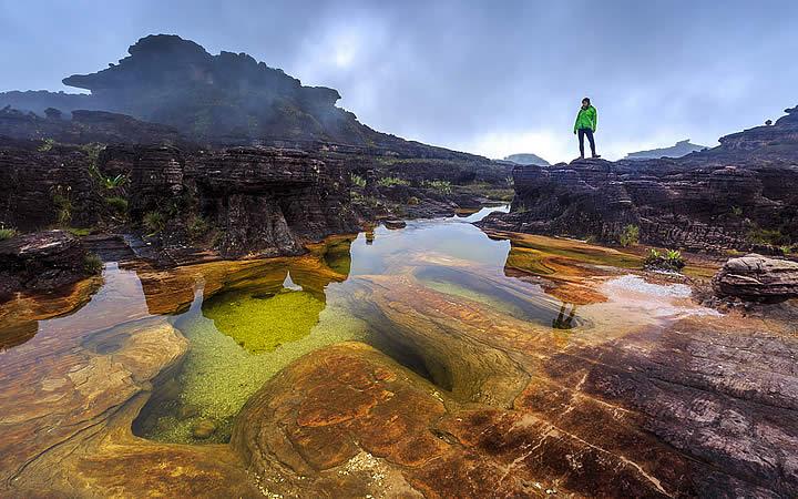 Lago em Monte Roraima