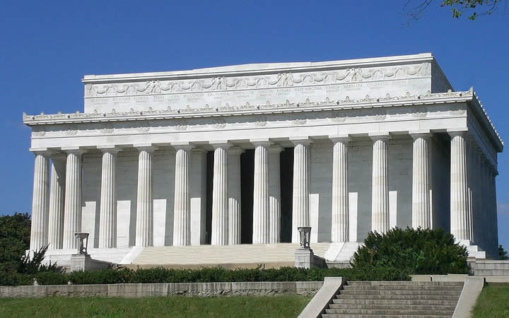 Lincoln Memorial em Washington