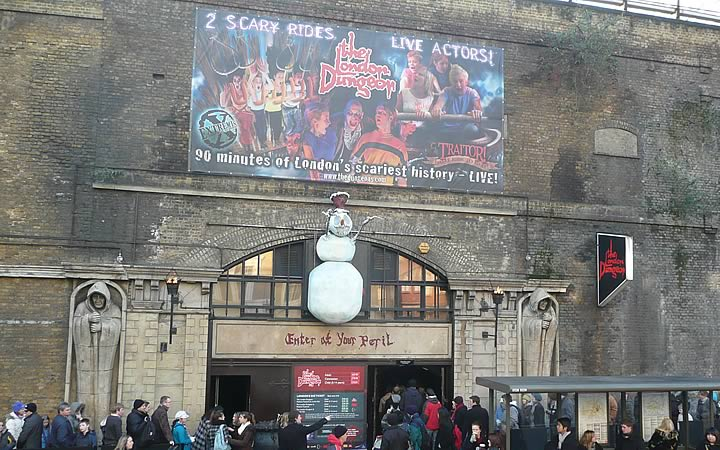 London Dungeon em Londres