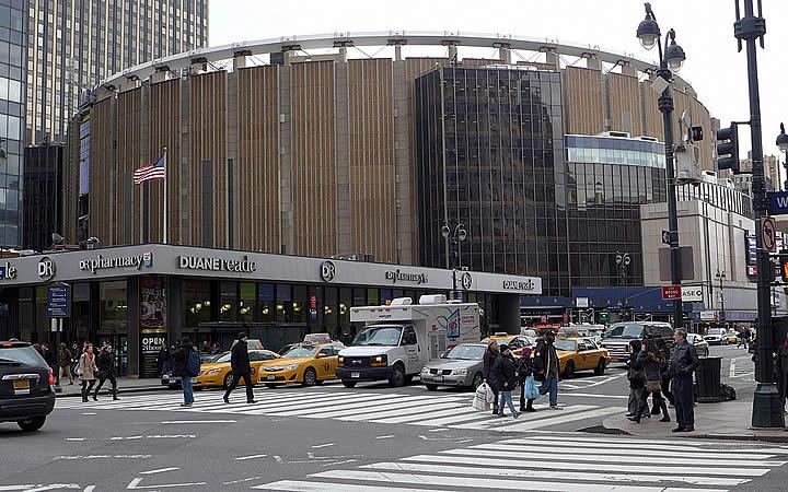Madison Square Garden em Nova Iorque