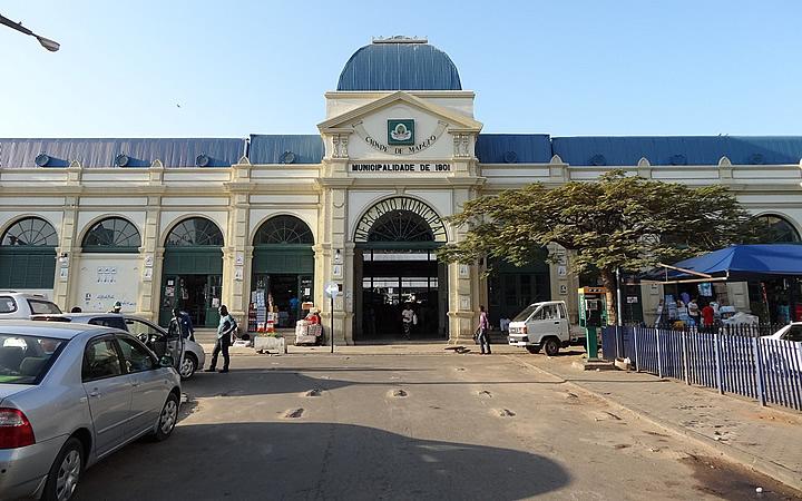 Mercado municipal de Maputo - Moçambique