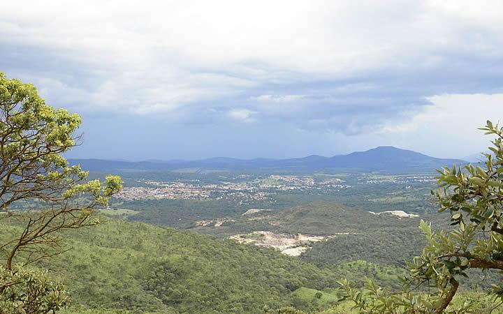 Mirante do Ventilador em Pirenópolis