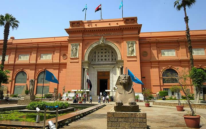 Museu Egípcio do Cairo