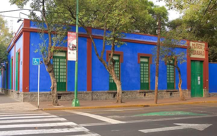 Museu Frida Kahlo em Cidade do México