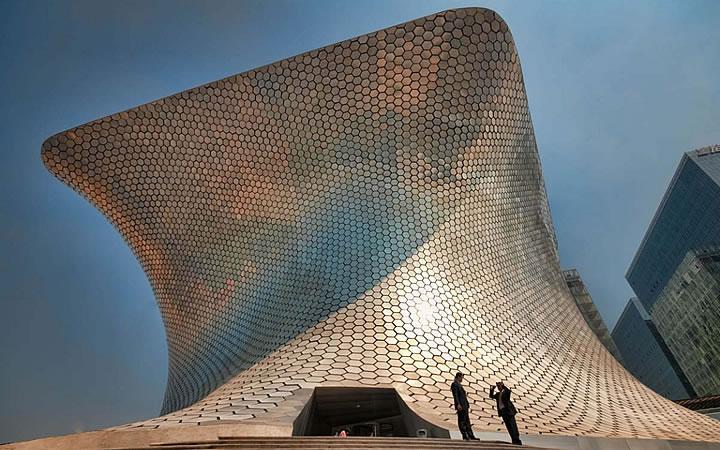 Museu de arte moderna em Cidade do México