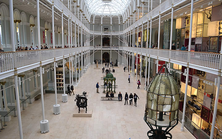 Museu nacional em Edimburgo