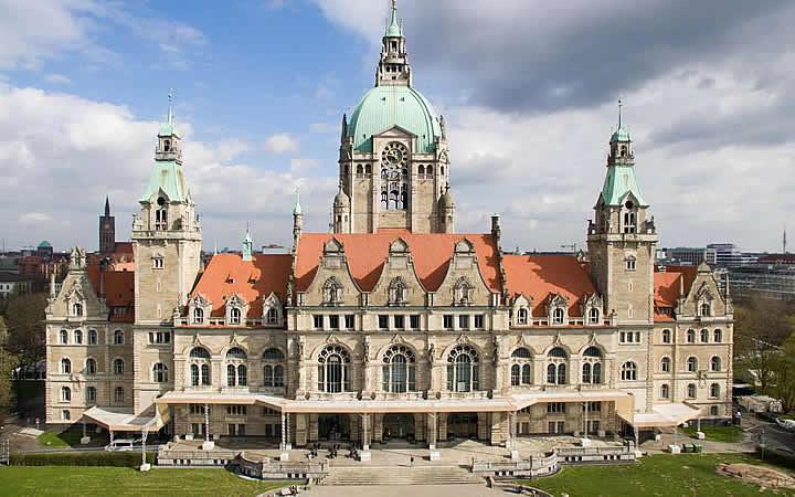 Neues Rathaus em Hannover