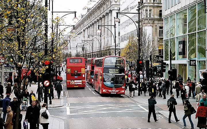 Oxford Street em Londres