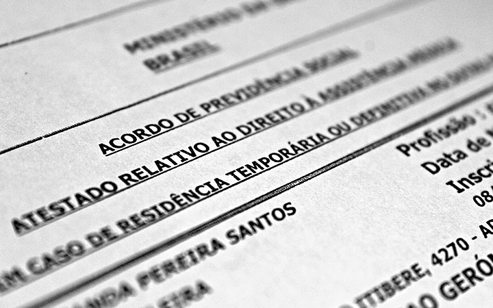 PB4 documento para usar o sistema de saúde de países no exterior