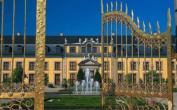 Palácio Herrenhausen em Hannover