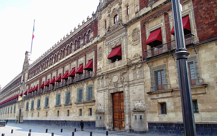 Palácio Nacional em Cidade do México