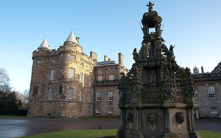 Palácio de Holyrood em Edimburgo