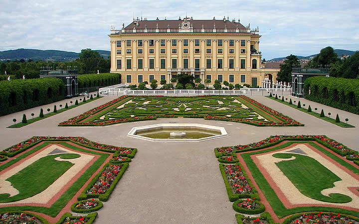 Palácio de Shoönbrunn em Viena